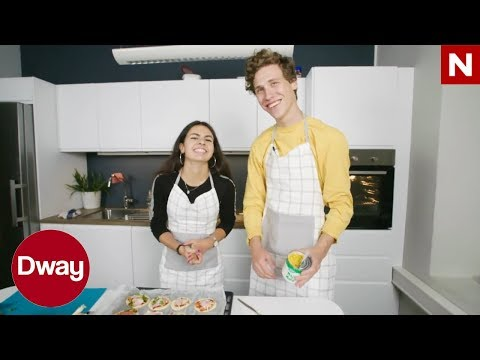 Dway | Mat for og med dummies:  Minipizza med mais | TVNorge