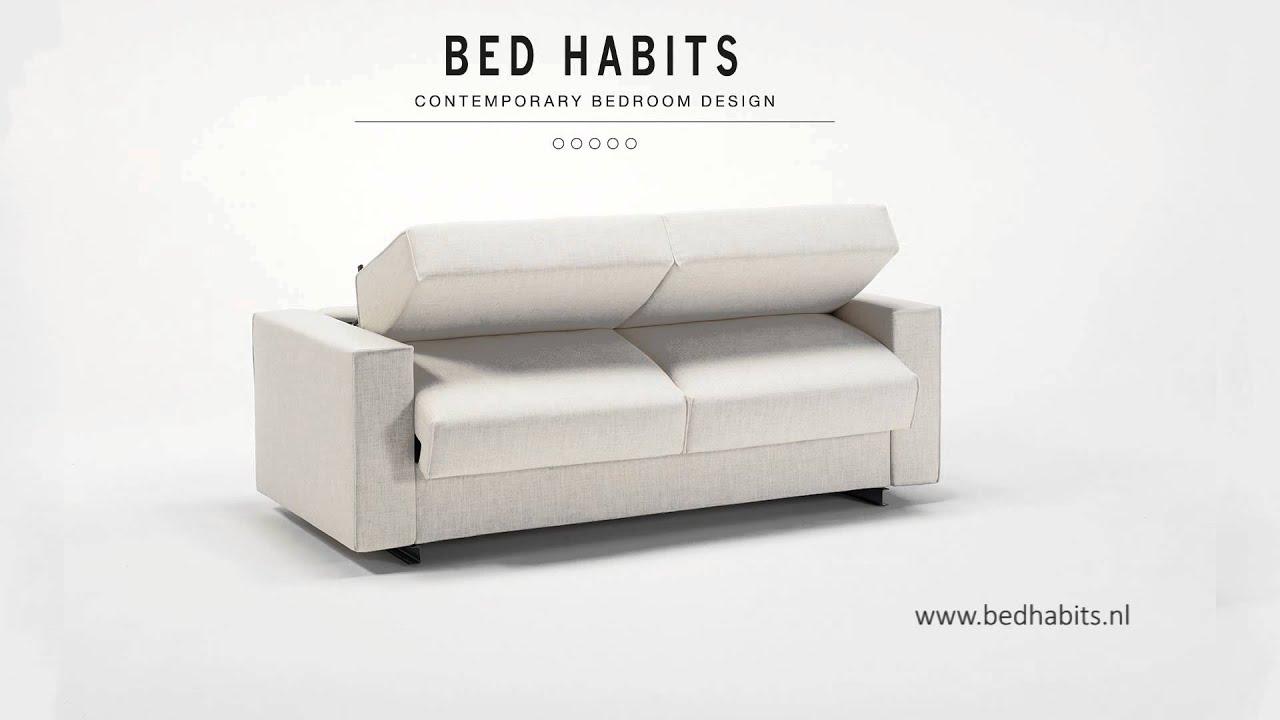 Slaapbank Kopen Amsterdam.Design Slaapbank Model 126 Bed Habits Amsterdam Youtube