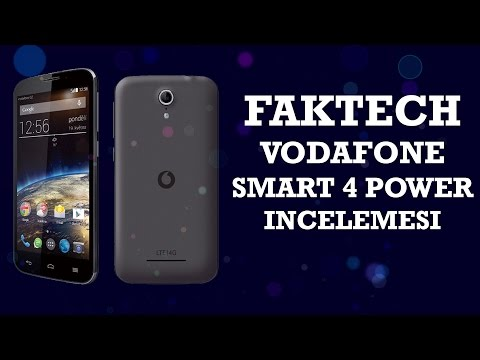 Vodafone Smart 4 Power İncelemesi