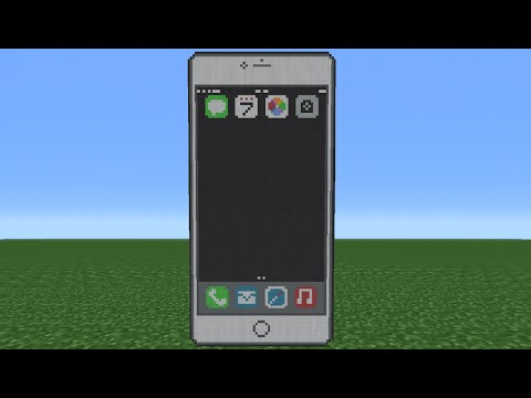 Minecraft Tutorial: How To Make An IPhone 6