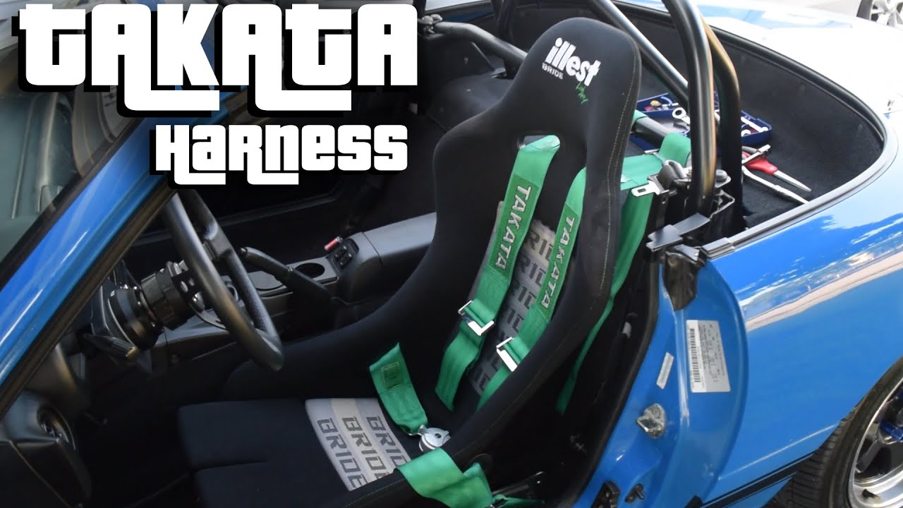 Project P // TAKATA HARNESS INSTALL!!! \\ - YouTube