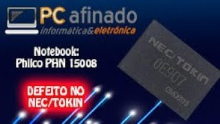 Troca do capacitor NEC/TOKIN Philco PHN 15008