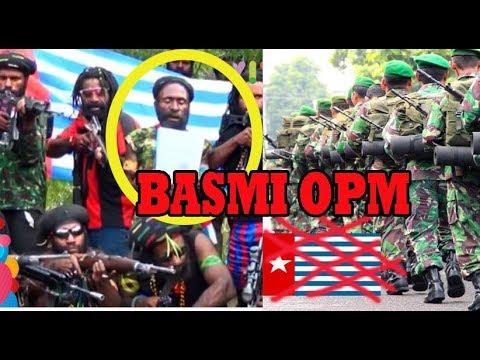 GOBLOKNYA KKB OPM Papua Tantang POLRI DAN TNI Tunggu Balasannya