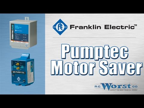 Franklin Electric Pumptec Motor Saver Devices