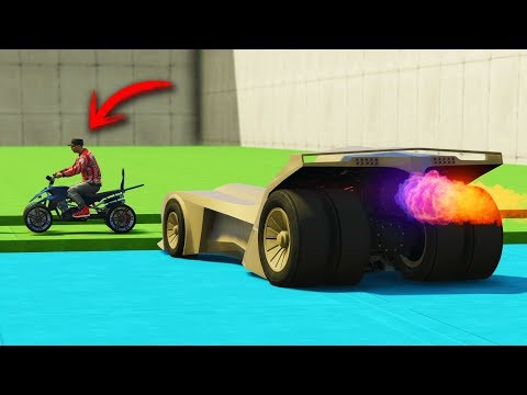 CORRE O TE ATROPELLO! CON COCHES TURBO!! - GTA 5 ONLINE - GTA V ONLINE