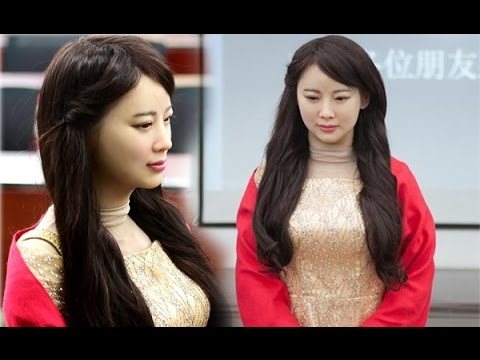 Jia Jia the China's Most Realistic HUMANOID who recognises faces and can learn new skills