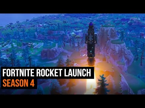 Fortnite Rocket Launch - Season 4