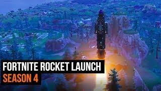 Fortnite Rocket Launch - Season 4