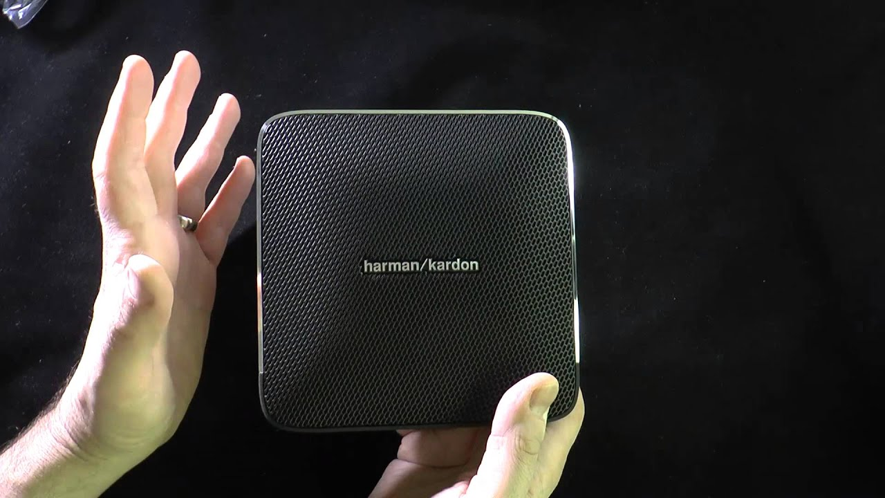 harman kardon esquire bluetooth speaker youtube. Black Bedroom Furniture Sets. Home Design Ideas