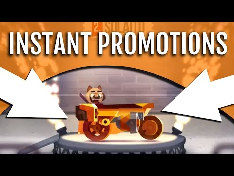 'DOUBLE INSTANT PROMOTION!'   CATS Game Crash Arena Turbo Stars: Best Car Beginner Tips (Gameplay)