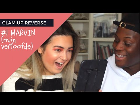 GLAM UP REVERSE: MARVIN DOET MIJN MAKEUP - MAKEUPARTISTFADIM