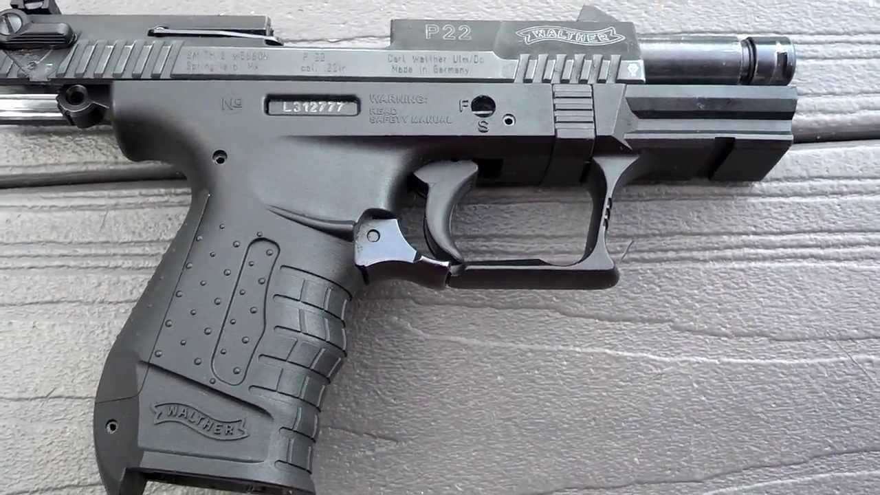 Walther p22 quick review