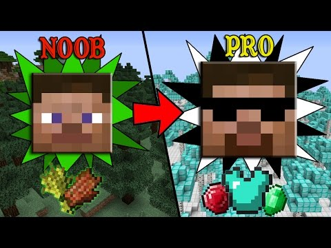 Thumbnail: More EASY Ways to Transform from Noob to Pro in Minecraft
