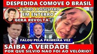 Triste: Por que Silvio Santos não foi? Companheira de Gugu se pronuncia, atitude de Rodrigo Faro
