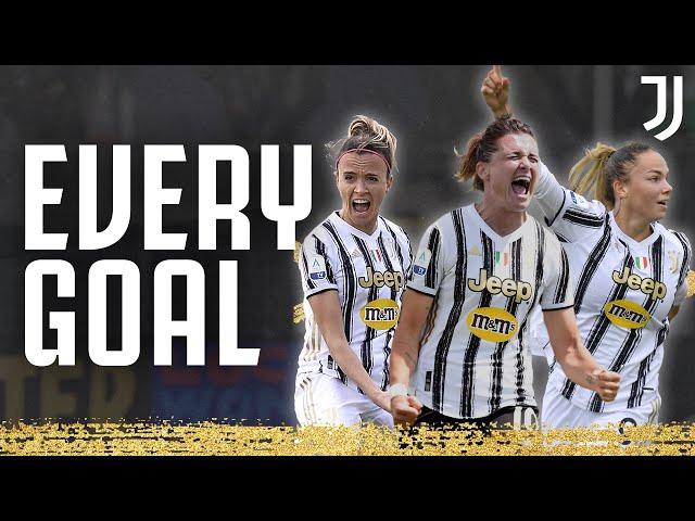 Every Juventus Women's Goal 2020/2021!   #F4BULOUS   Juventus Women