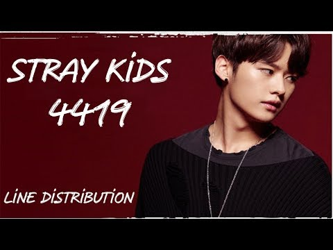 Stray Kids (스트레이 키즈) – 4419 [Line Distribution]