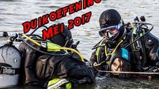 Brandweer Nieuwpoort Duikoefening Mei 2017