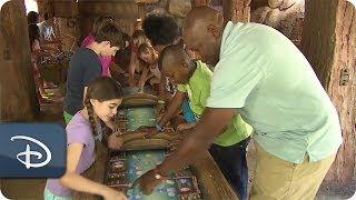 Exploring the Interactive Queue at Seven Dwarfs Mine Train | Walt Disney World | Disney Parks