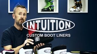 Intuition Custom Ski Boot Liner 2016 Range Overview