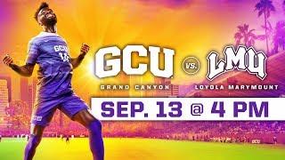 GCU Men's Soccer vs. Loyola Marymount Sept 13, 2018
