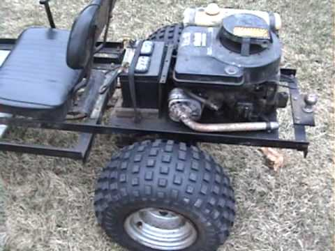 briggs&stratton 8HP SAE J607 AT WORK - YouTube