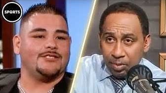 Stephen A. Smith Gets KNOCKED OUT By Boxer