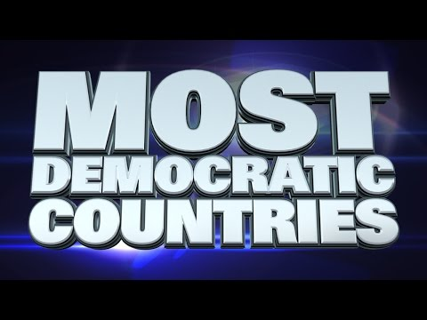 10 most Democratic countries in the World 2015