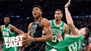 Celtics still favorites in East because Bucks haven't proven themselves - Stephen A. | First Take