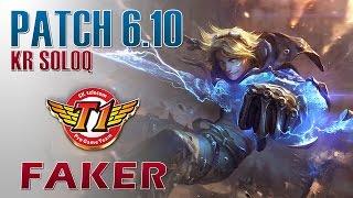 SKT T1 Faker vs C9 Sneaky - Ezreal vs Sivir - KR LOL Master 141LP