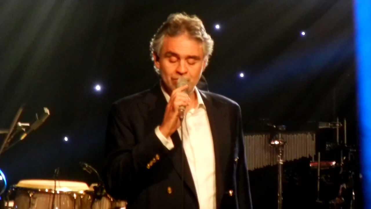 I FOUND MY LOVE IN PORTOFINO - Andrea Bocelli NYC 2013
