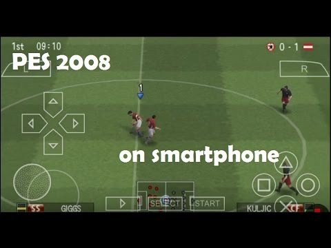 How to Play Free PES 2008 Game on android !