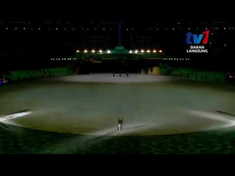 RESCUE by YUNA in Para Asean Opening Ceremony KL2017