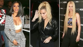 Khloe Kardashian, Iggy Azalea, Christina Milian And More Party With Cardi B At Fashion Nova Launch