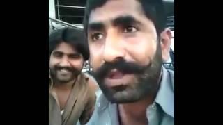 Pakistani From Dubai Abusing Nawaz Sharif In Saraiki Very Funny Must Watch