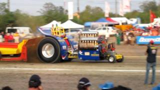 trattor pulling s pancrazio 3 motori 7000 hp