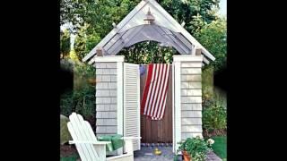 Уютный дачный душ или садовый душ. Несколько вариантов(, 2015-12-21T13:26:44.000Z)