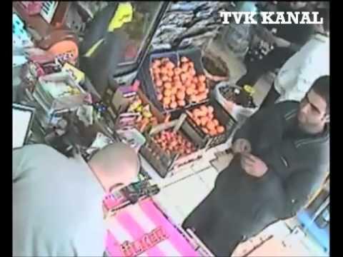 Hırsızlara suç üstü yapıp meydan dayağı attılar