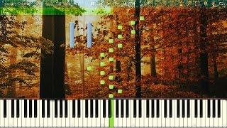 Vivaldi: Four Seasons - Autumn [3rd Movement]. Allegro (Hunting). Piano (Synthesia)