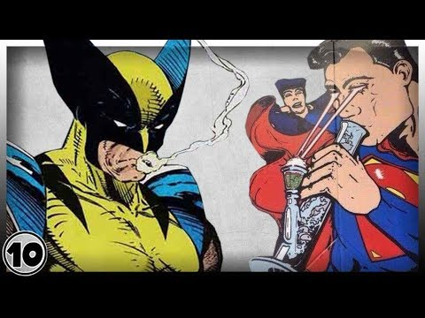 Top 10 Superheroes Who Probably Smoke Cannabis