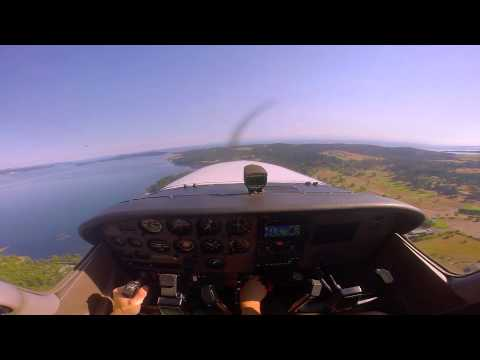 Cessna 172 Flight Paine Field (KPAE) to Friday Harbor (KFHR)