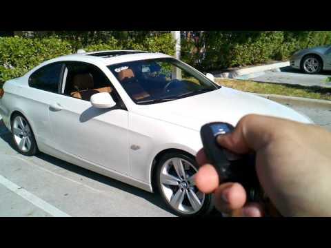 BMW Coding Window Close from Key