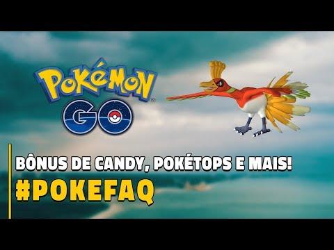 BÔNUS DE CANDY, POKÉSTOPS E MAIS! #POKEFAQ | Pokémon GO