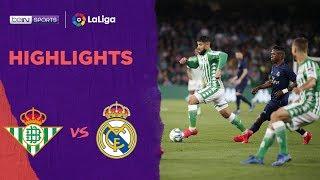 Real Betis 2-1 Real Madrid | LaLiga 19/20 Match Highlights