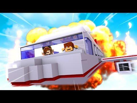 Minecraft Daycare - PLANE CRASH !! (Minecraft Roleplay)