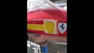 Ferrari Design: Shrao Marine Seadoo Jet Boat