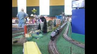 ACSG running S Gauge Trains at C & O Train Show