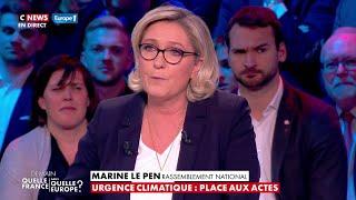 La conclusion de Marine Le Pen