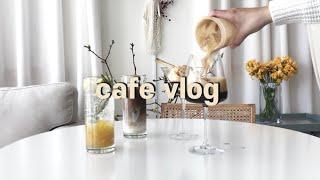 ENG) cafe vlog 우리 카페에서 파는 아이스 …