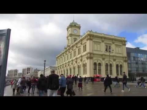 Три вокзала на одной площади - Ленинградский, Ярославский, Казанский