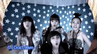 My Top 10 2NE1 Songs